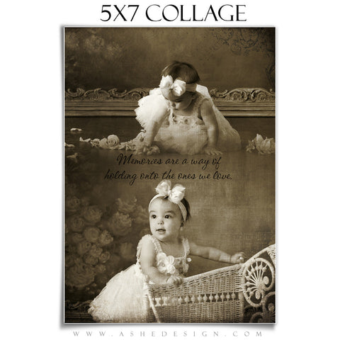 Collage Design (5x7) - Antique Fairy Tale