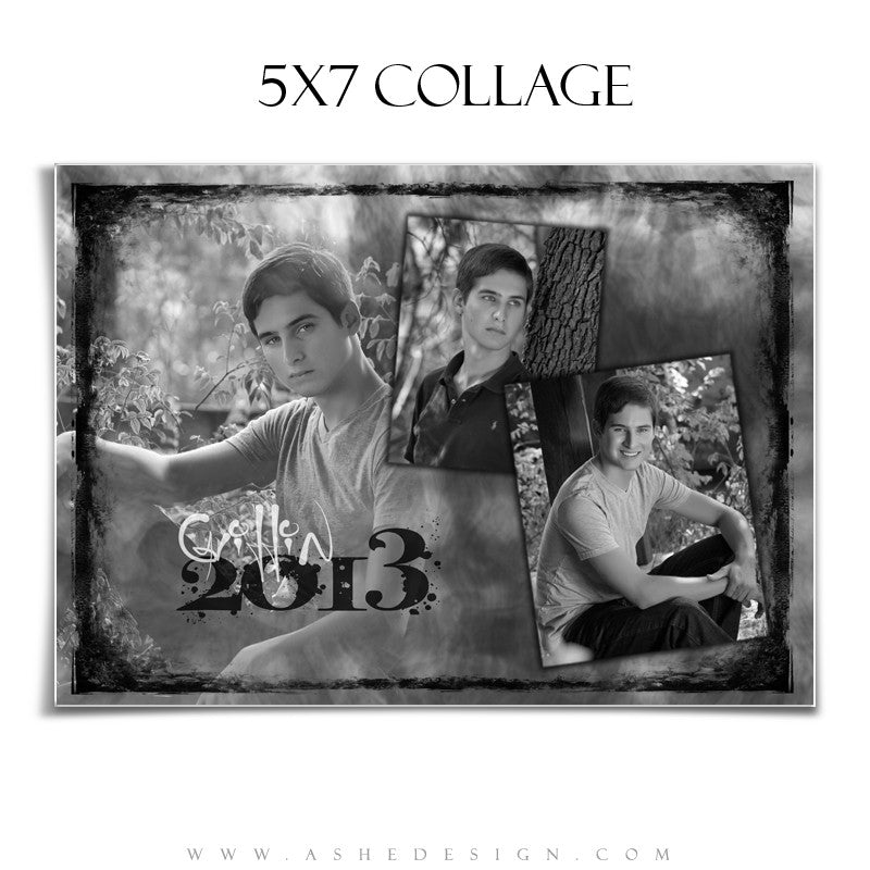Collage Template 5x7 | Smoke & Mirrors