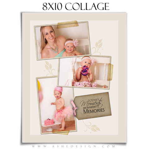 Collage Template (8x10) - A Stitch in Time