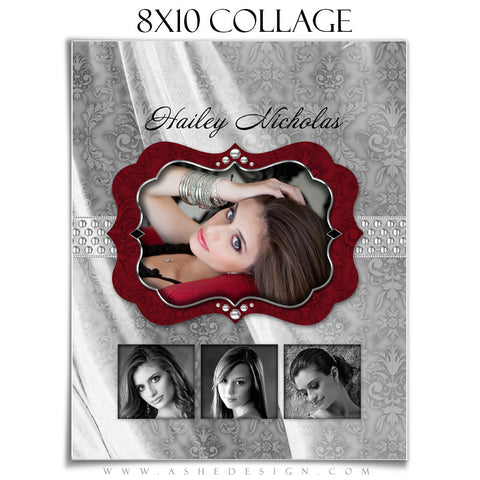 Collage Design (8x10) - Christmas Bling