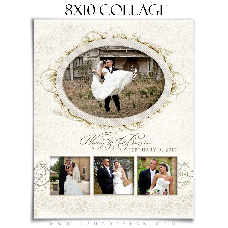 Wedding Collage (8x10) - I Do