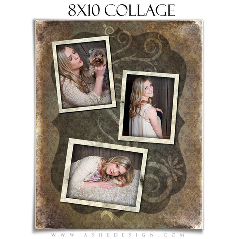 Collage Design (8x10) - Shabby Chic