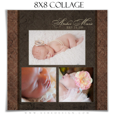 Collage Template 8x8 | Amber Marie