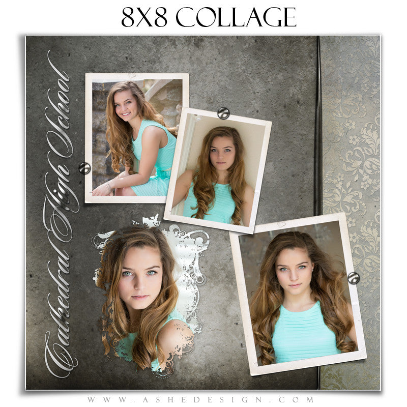 Senior Girl Collage (8x8) - Macy Mae