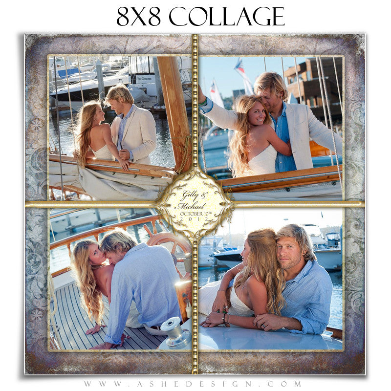Wedding Collage (8x8) - Something New