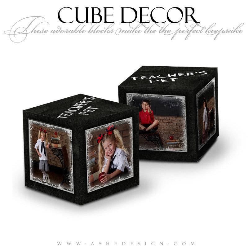 Cube Decor Design - Chalk