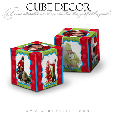 Cube Decor Design - Holly Jolly Christmas