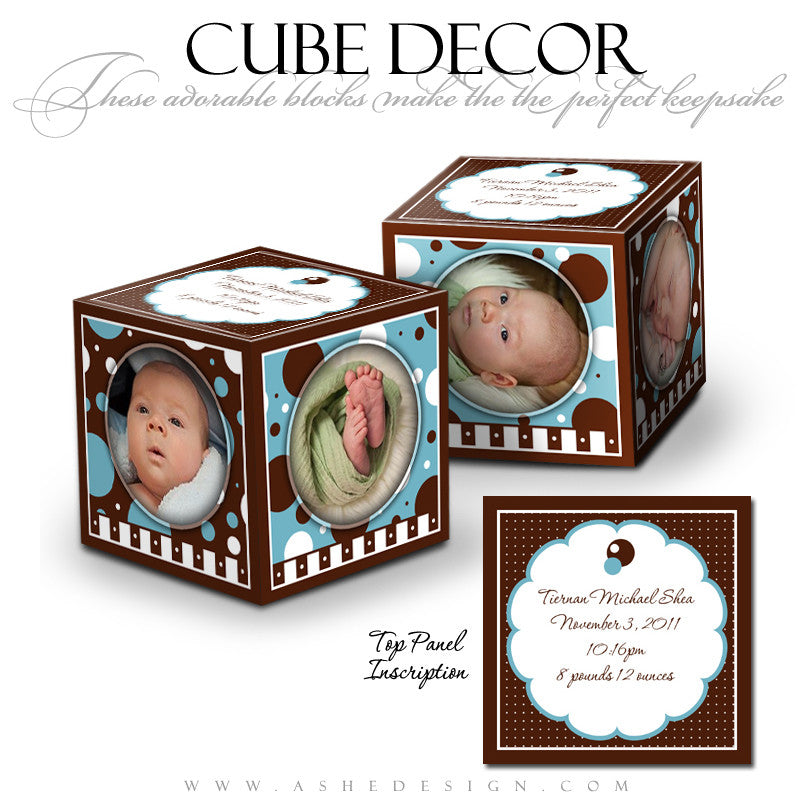 Cube Decor Design - Hot Chocolate