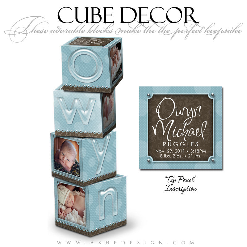 Cube Decor Design - Owyn Michael