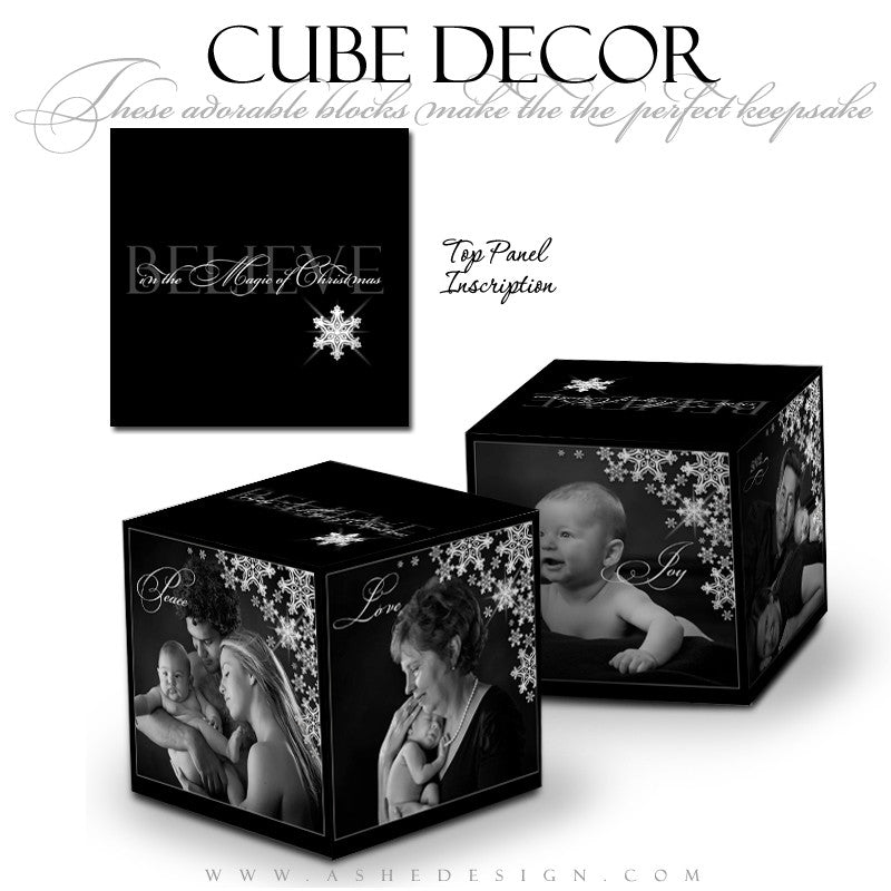 Cube Decor Design - Silent Night