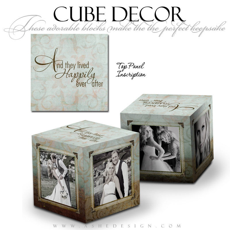 Cube Decor Design - Something Old