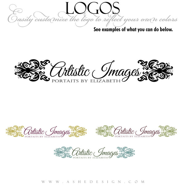 Customizable Logo - Adorned