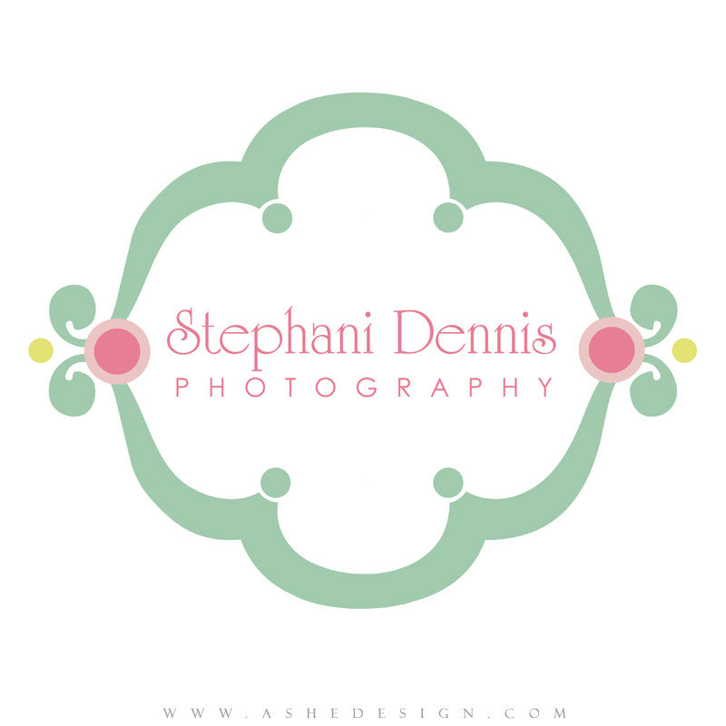 Customizable Logo - Bubble Gum
