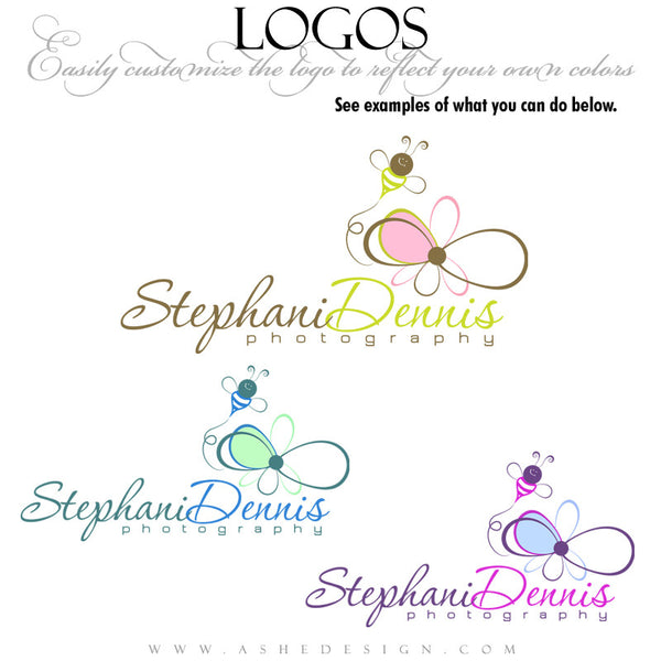 Customizable Logo - Busy Bee