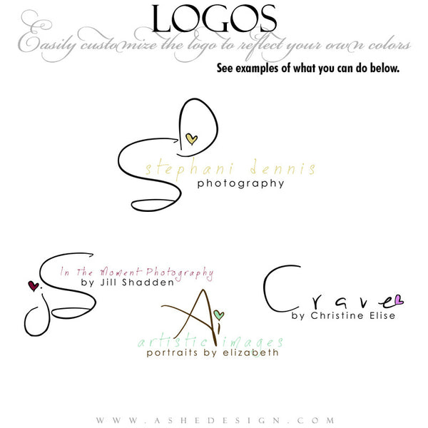Customizable Logo - Doodle Love