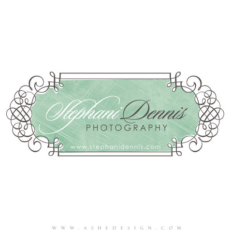 Customizable Logo - Elegant Swirls