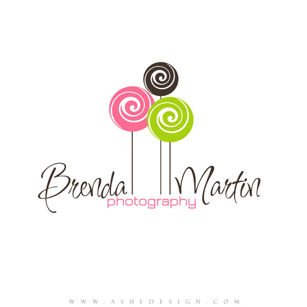 Customizable Logo - Lollipops
