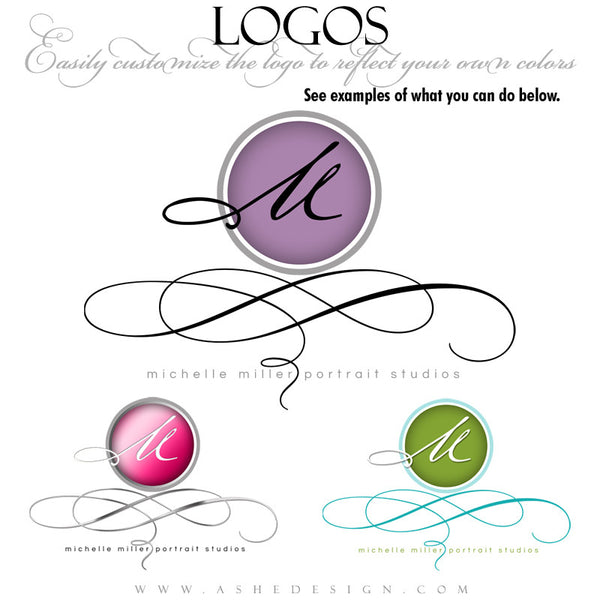 Customizable Logo - Modern Elegance