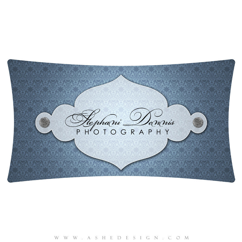 Customizable Logo - Ornate Damask