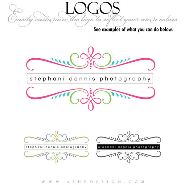 Customizable Logo - Simple Sophistication