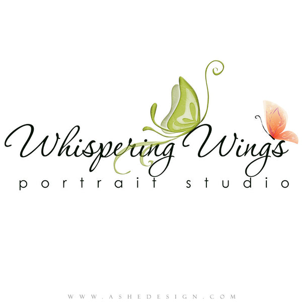 Customizable Logo | Whispering Wings