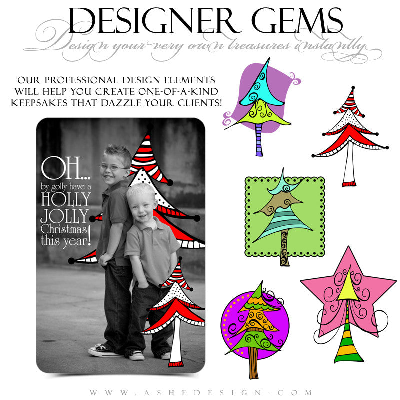 Designer Gems - Whimsy Trees