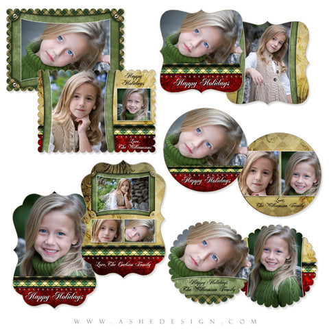 Die Cut Christmas Card Set - Christmas Couture