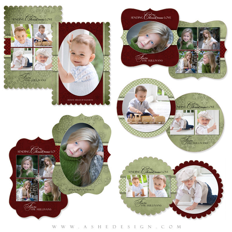 Die Cut Christmas Card Set - Dear Santa