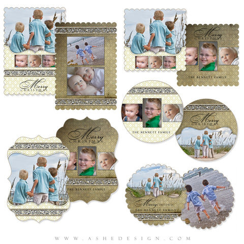 Christmas Die Cut Card Set - Faith