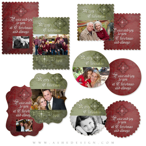 Christmas Die Cut Card Set - First Night