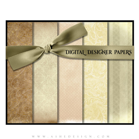 Digital Designer Paper Set - A Stitch In Time