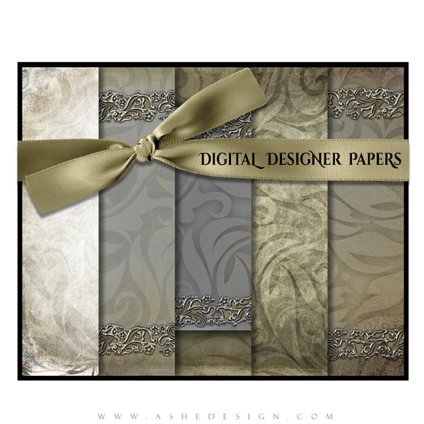 Digital Designer Paper Set - Annalese