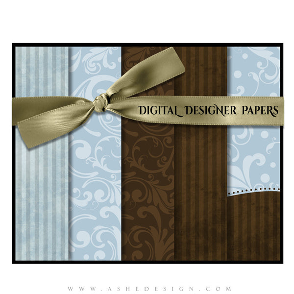 Digital Designer Paper Set - Be Merry