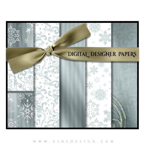 Digital Designer Paper Set - Believe