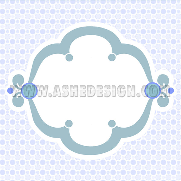 Ashe Design | Digital Designer Paper2 | Bubble Gum Blue
