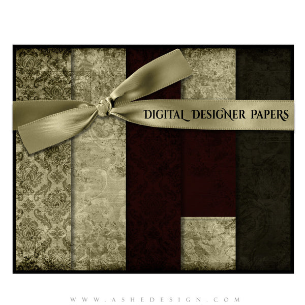 Digital Designer Paper Set - Christmas Blessings