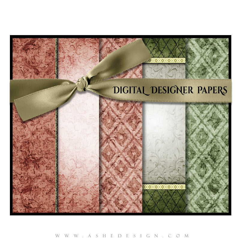 Digital Papers |  Christmas Keepsake (Vol. 2) set