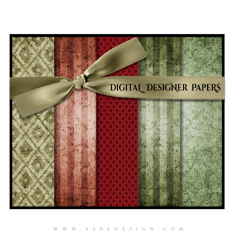 Digital Papers | Christmas Keepsake (Vol. 3) set