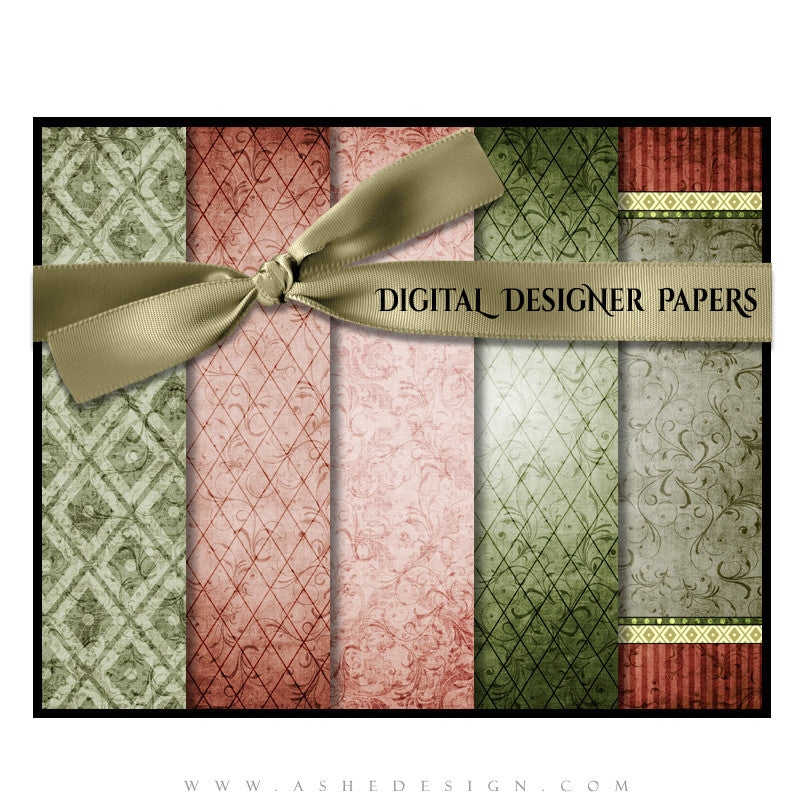 Digital Papers | Christmas Keepsake (Vol. 5) set