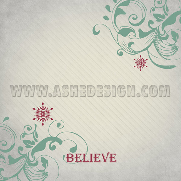 Digital Designer Paper Set - Christmas Magic