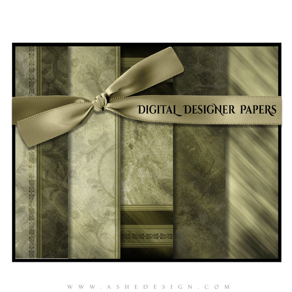 Digital Paper Set | Elegant Brushed Grunge (Vol. 3) full set