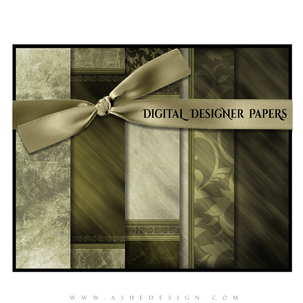 Digital Paper Set | Elegant Brushed Grunge (Vol. 1) full set