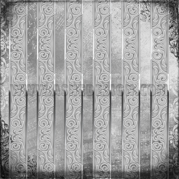 Digital Designer Paper Set - Engraved Elegance