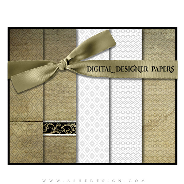 Digital Designer Paper Set - Faith