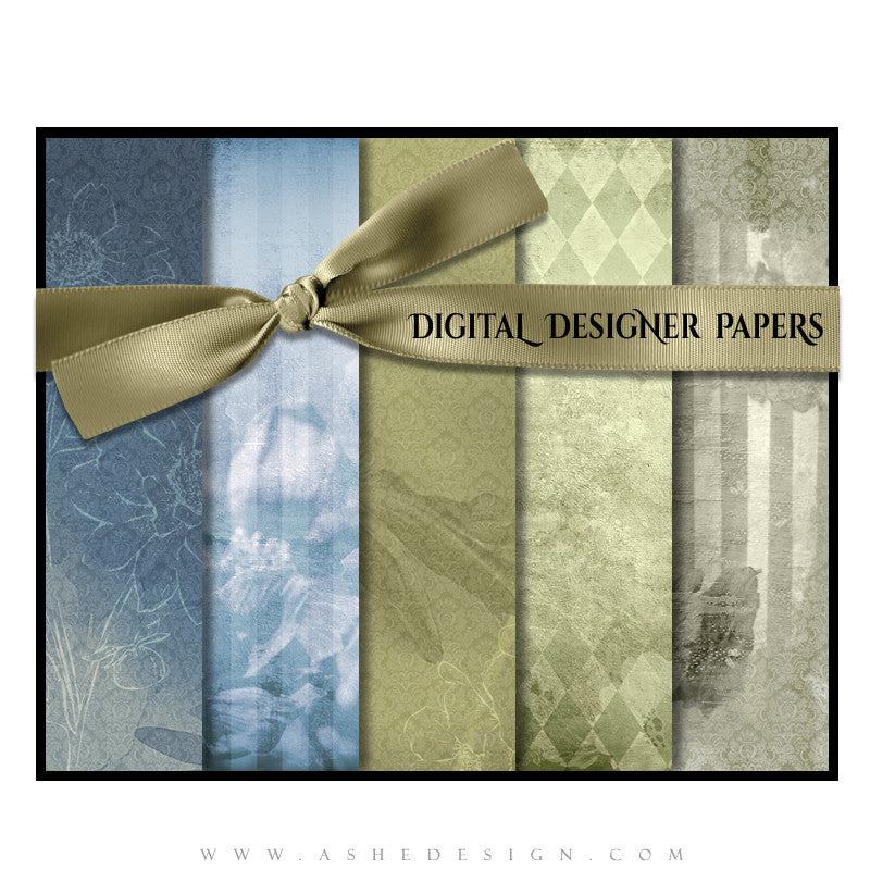 Digital Designer Paper Set - Flowers (Vol. 2)