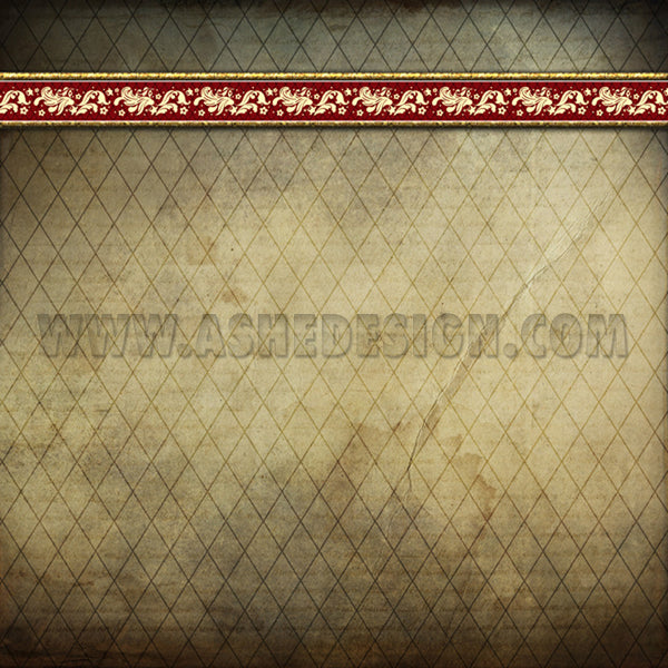 Digital Designer Paper Set - Ginger Bread