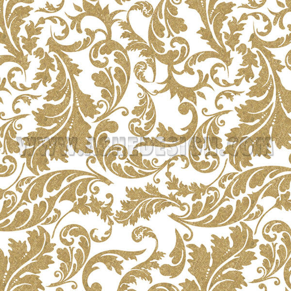 Digital Designer Paper Set - Gold Leaf