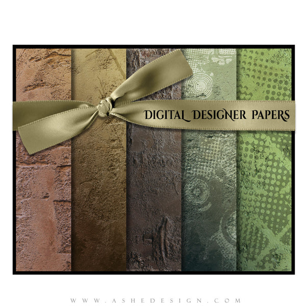 Digital Designer Paper Set - Hard Rock