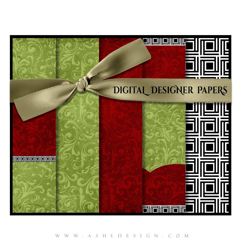 Digital Designer Paper Set - Joy