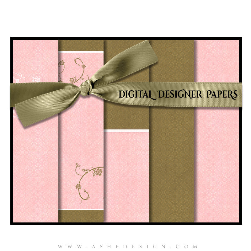 Ashe Design | Digital Papers | Karly Carol